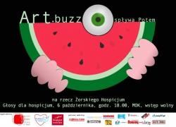 Plakat Art.buzz spływa Potem