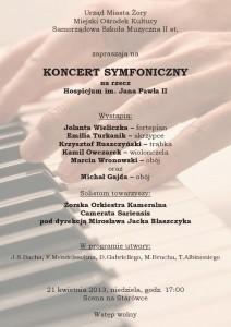 Koncert symfoniczny szkoly muzycznej 21.04.2013