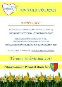 Konkursy - 14 Pola Nadziei