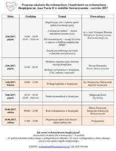 Program szkolenia dla wolontariuszy i kandydatów na wolontariuszy czerwiec 2017-page-001