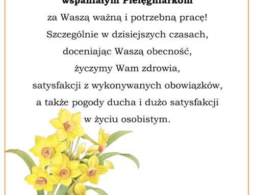 Dziś obchodzimy Międzynarodowy Dzień Pielęgniarek!