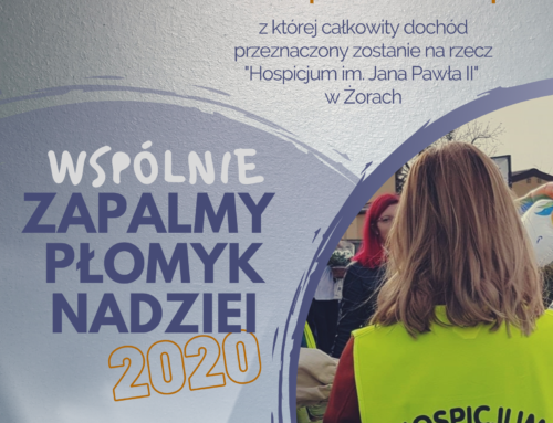 """Ruszają zapisy wolontariuszy chętnych do udziału w akcji """"Zapalmy płomyk nadziei 2020""""!"""