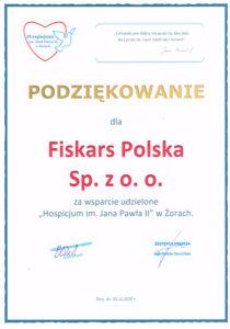 Podziękowania Fiskars